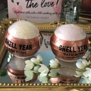 Shell Yeah Victoria's Secret Pineapple Bath Bombs